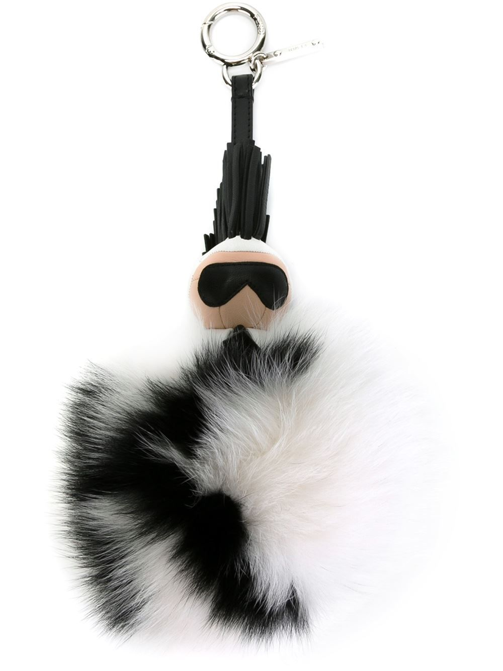 Fendi Karlito Karl Charm Fur Keyring Accessories Fashion Www - Porte clé fendi