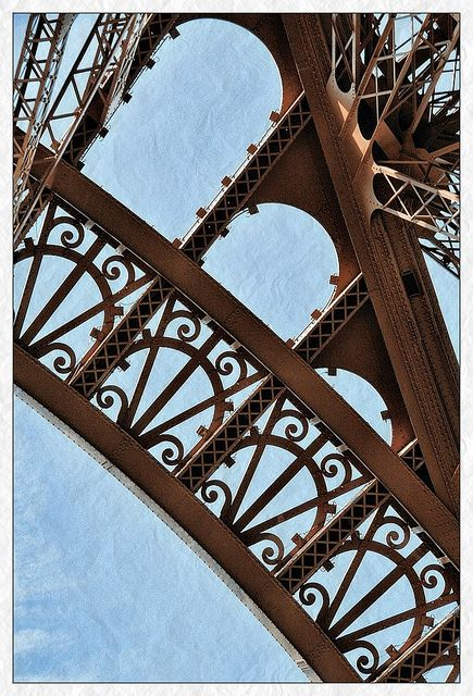 Eiffel Tower - patterns - 1 by woto, via Flickr