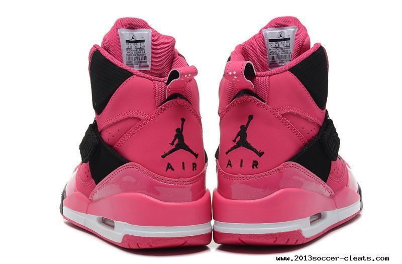 official photos 79501 be3cf ... 547769-601 Nike Air Jordan Flight 45 High GS Vivid Pink Black 2013 ...