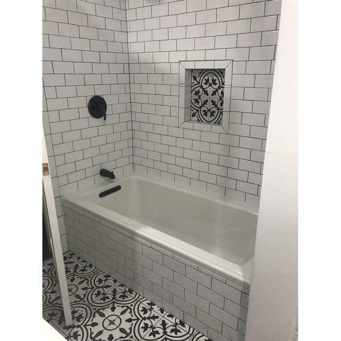 """Archer 60"""" x 30"""" Soaking Bathtub"""