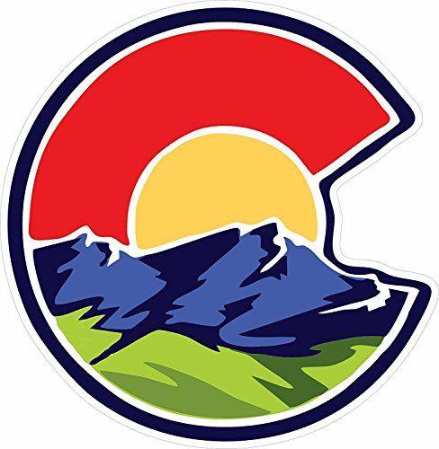 unameit colorado c nature sticker colorado stickers col