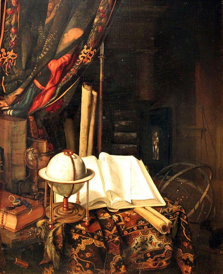 Jan van der Heyden: stilleven. ca. 1652 - 1712. Hamburger Kunsthalle ...