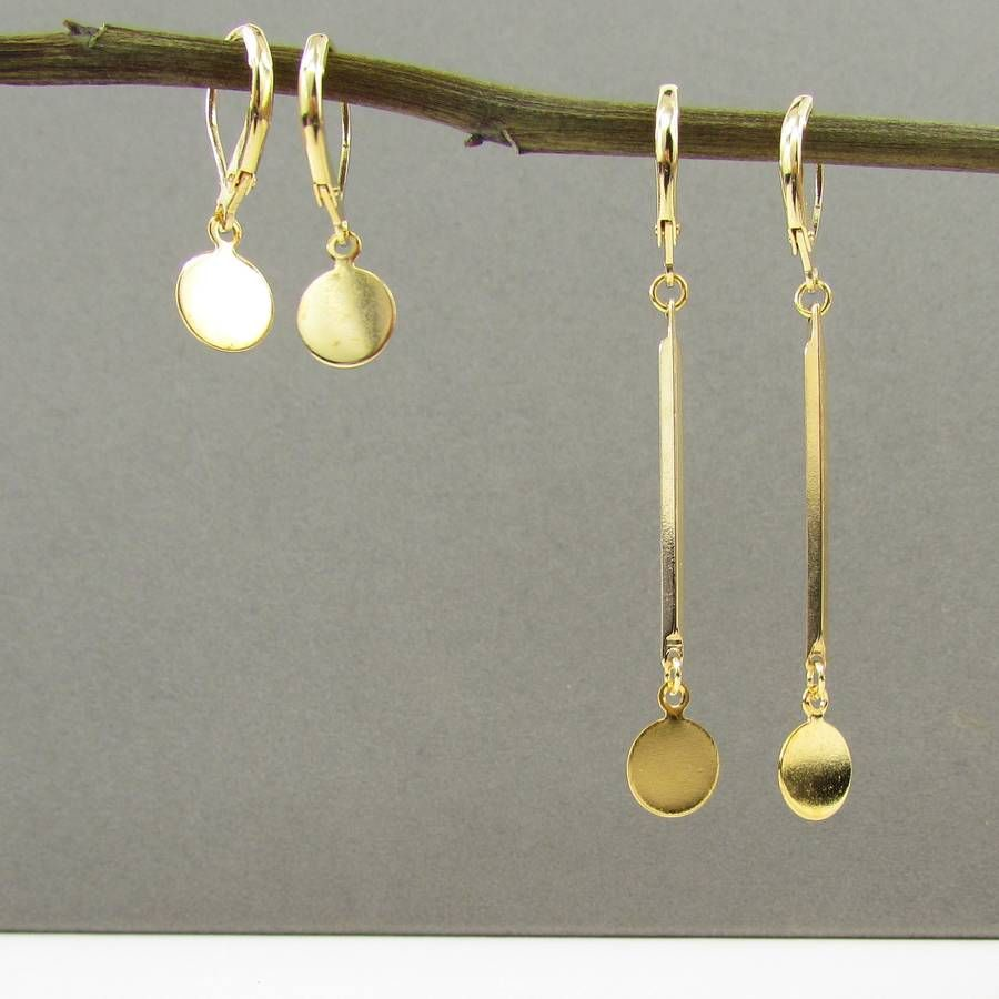 gold plating sterling wirework teardrop delicate earrings flash stud product silver k