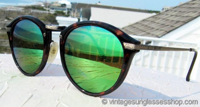 f5dc05204884 Vintage Revo 953 008 Green Mirror Sunglasses at the Vintage Sunglasses Shop