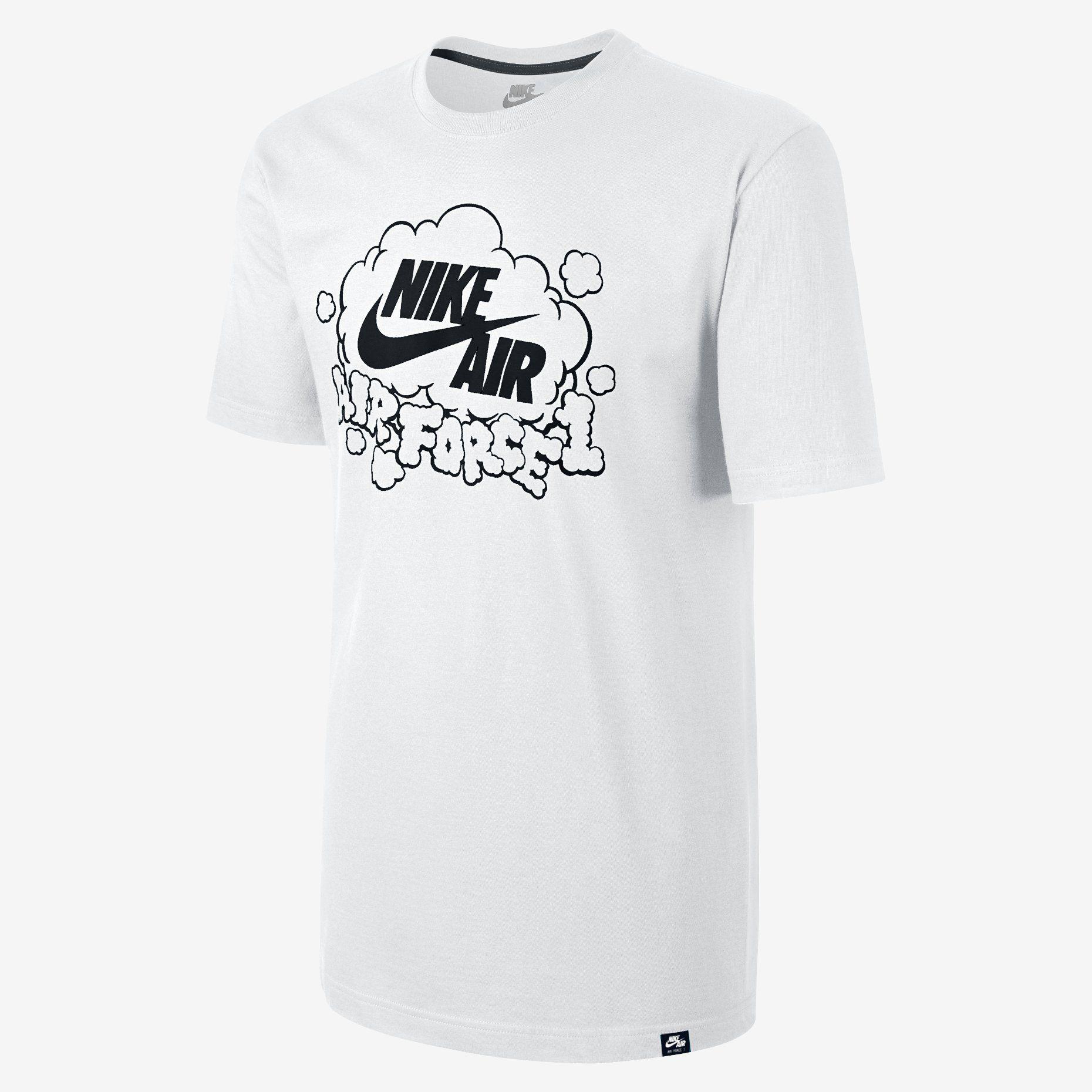Nike Air Force 1 Sign Off Men's T Shirt | Nike men, Mens