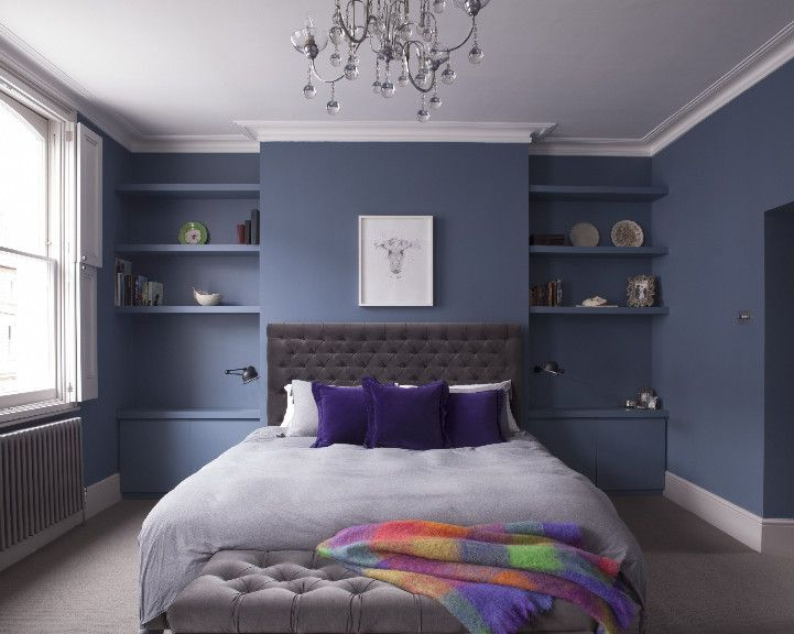Use Of Alcove Beside Chimney Breast Use Same Colour Paint