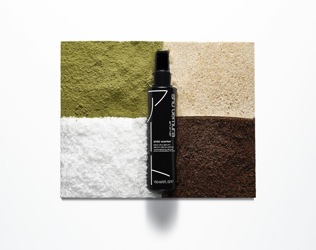 Shu Uemura Art Of Hair On Instagram Styling Must Have Shiki Worker Shiki Four Seasons In Japanese Is A Blow Dry Primer In 2020 Artistic Hair Blow Dry Shu Uemura