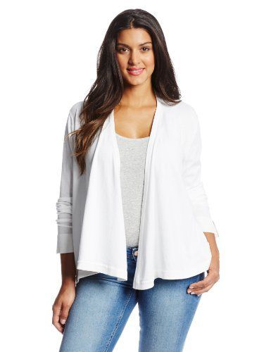 Jones-New-York-Womens-Plus-Size-Essential-Flyaway-Cardigan-White-2X-0