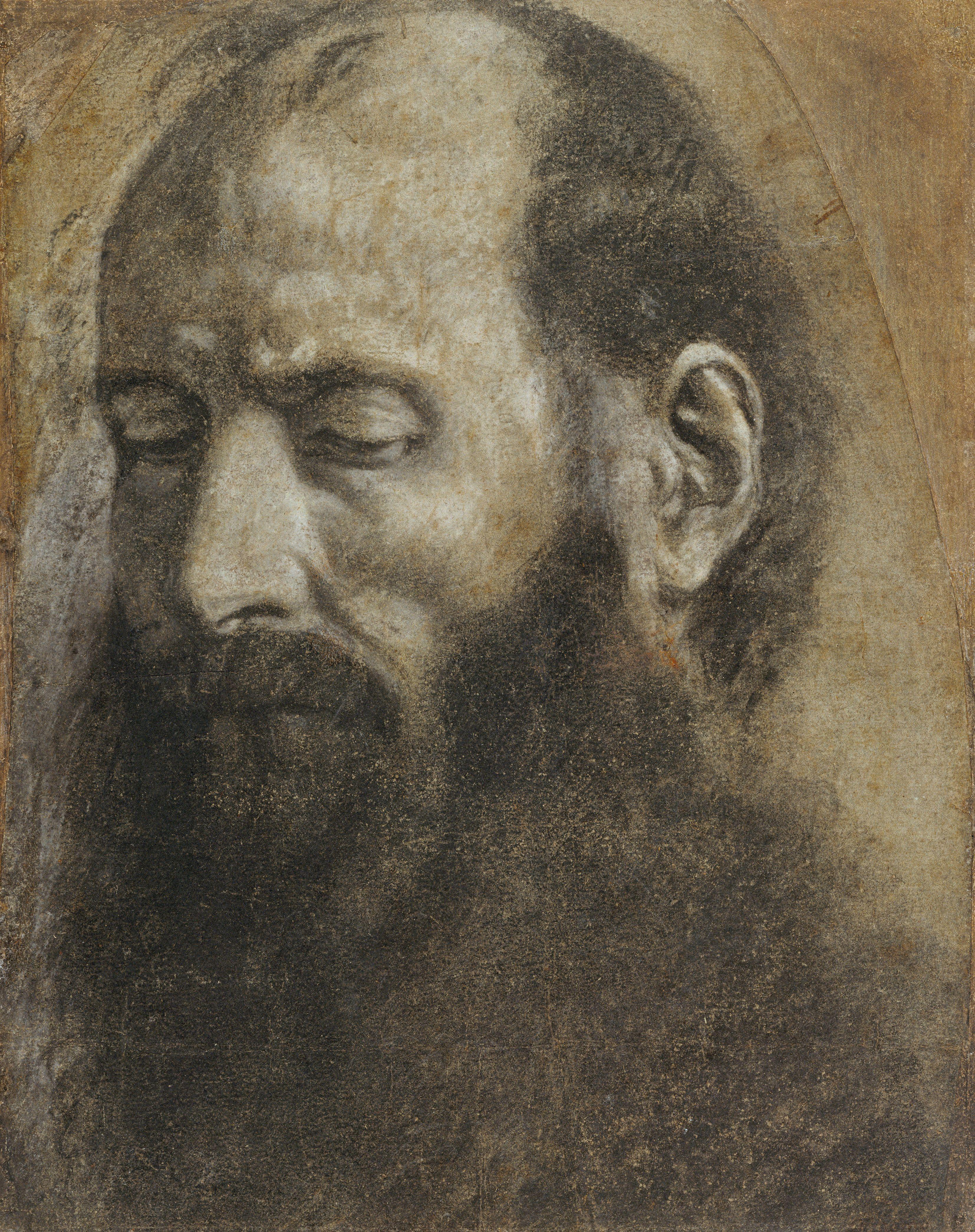 Saint Paul By Giovanni Girolamo Savoldo ,1533. size 3308x4182