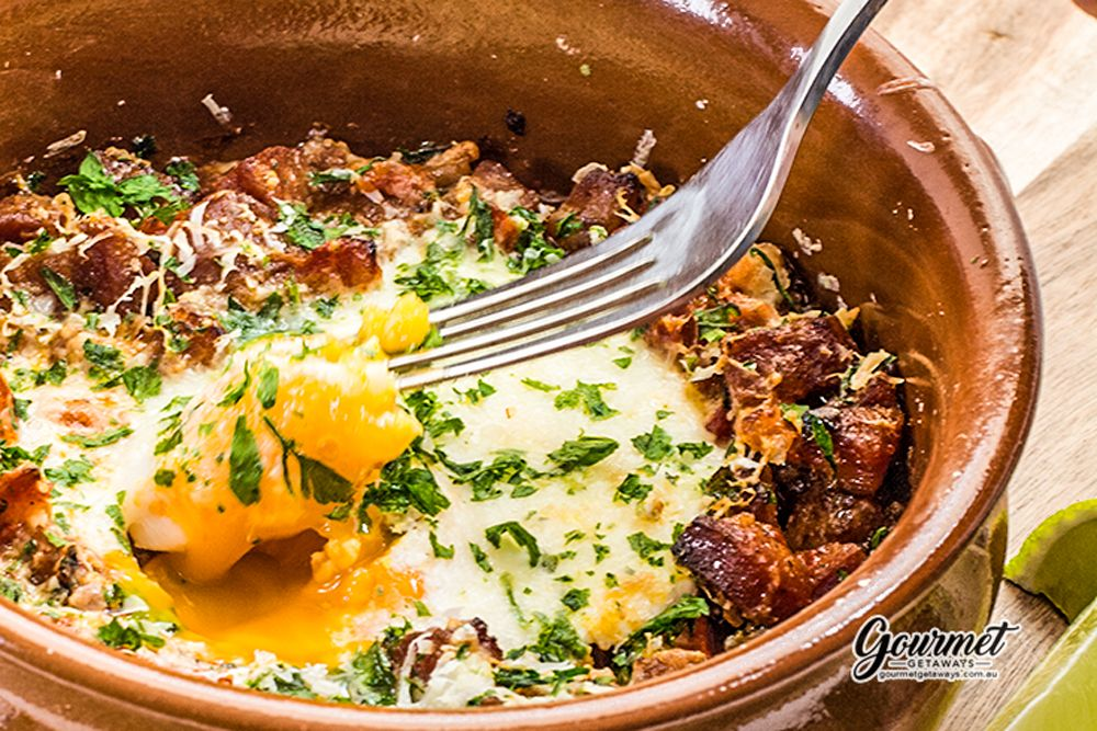 Spanish Baked Eggs The perfect WARM Breakfast for these
