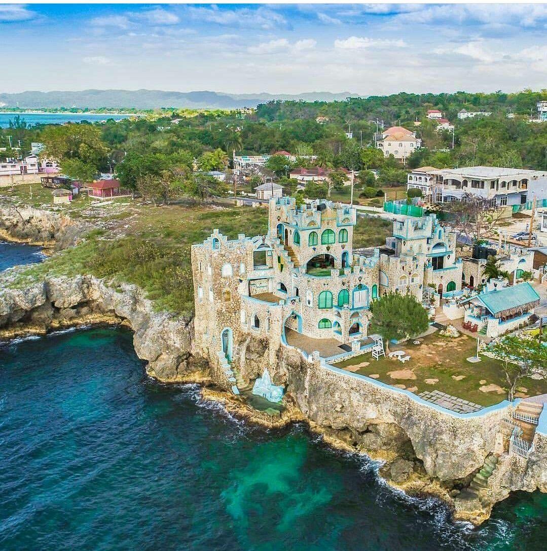 Blue Cave Castle Negril Jamaica Negril Jamaica Beautiful Places Negril
