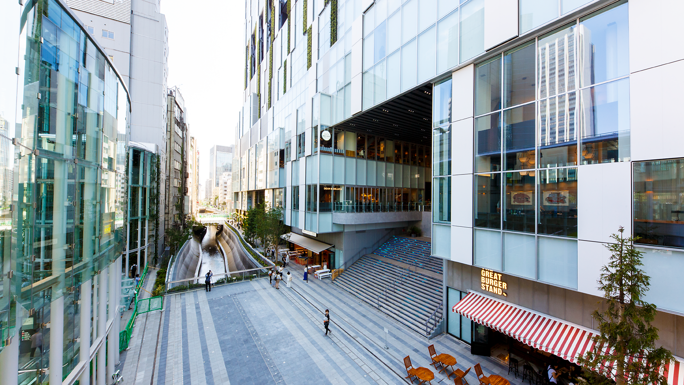 Newly opened Shibuya Stream riverside complex features a