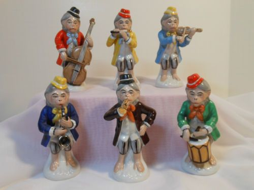 Gerold Porzzelan Very RARE Monkey Band Perfect Condition | eBay