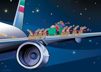 santa claus airplanes christmas airplane xmas jokes