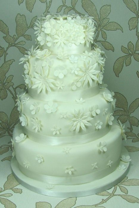 Bella Wedding Cake By Flissy Cakes