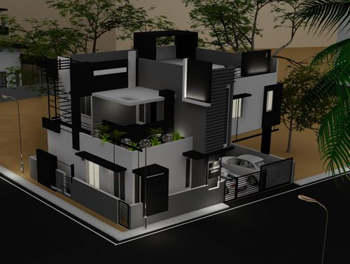Looking for modern bungalow designs in india contemporary for Plan of bungalow in india