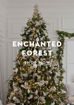 holiday boutiques home hudsons bay love this christmas tree theme enchanted - Enchanted Forest Christmas Trees