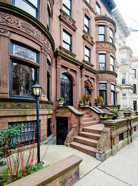 Our rental is in brownstone built in 1910 and is on a