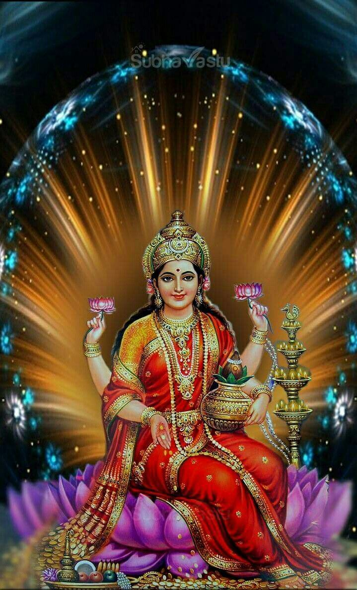 Lakshmi Hindu Goddess For Wealth And Abundance Chant Om Shreem Mahalakshmiyei Namaha As Heard On Youtube Goddess Lakshmi Durga Goddess Lakshmi Images