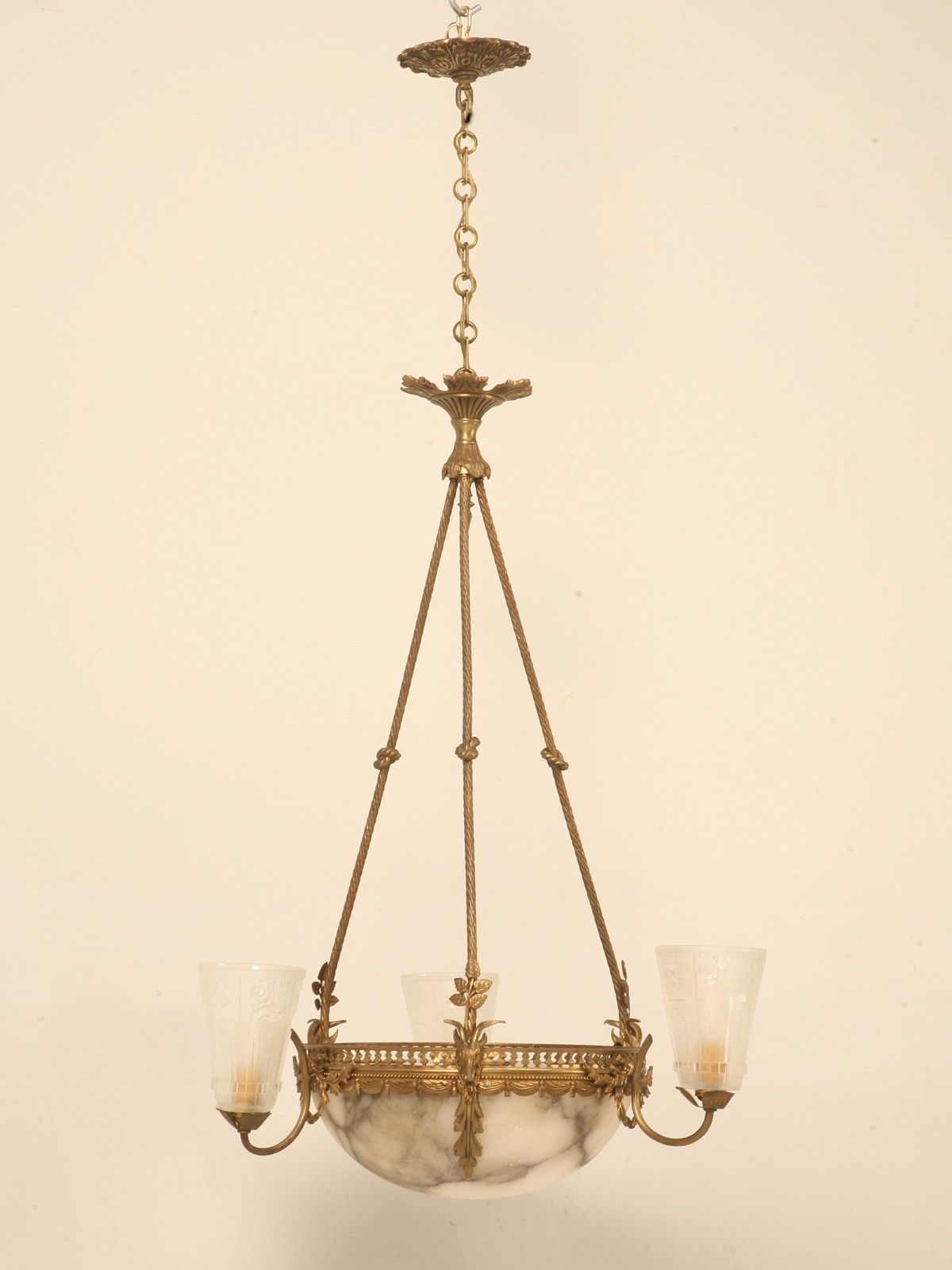 Though This French Chandelier Overlaps Style Wise, It Doesnt Make