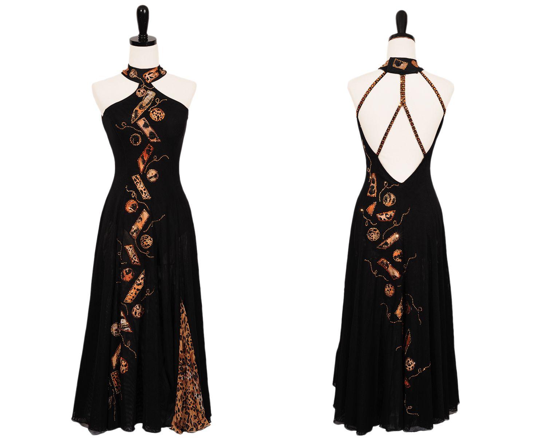 Interesting neckline | Ballroom and latin dress | Pinterest ...