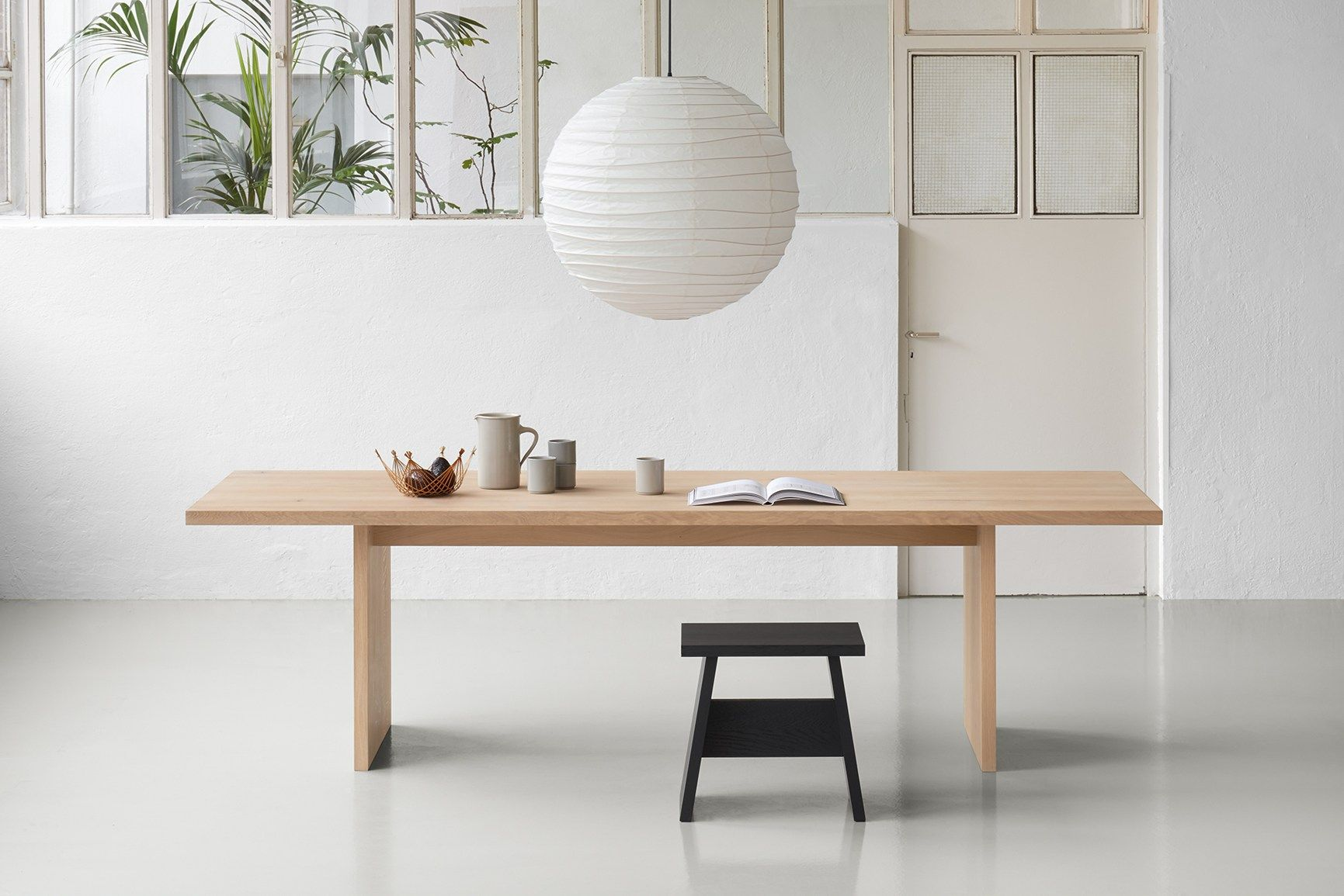 E15 And Philipp Mainzer At Imm Cologne 2018 Custom Dining Tables Kitchen Table Oak Modern Dining Table