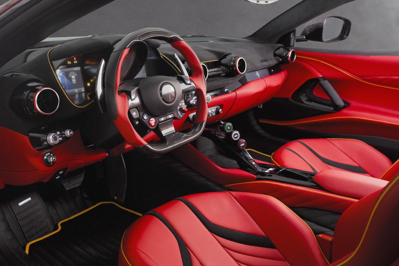 Official Mansory Stallone Ferrari 812 Superfast Gtspirit Ferrari Super Cars Custom Car Interior