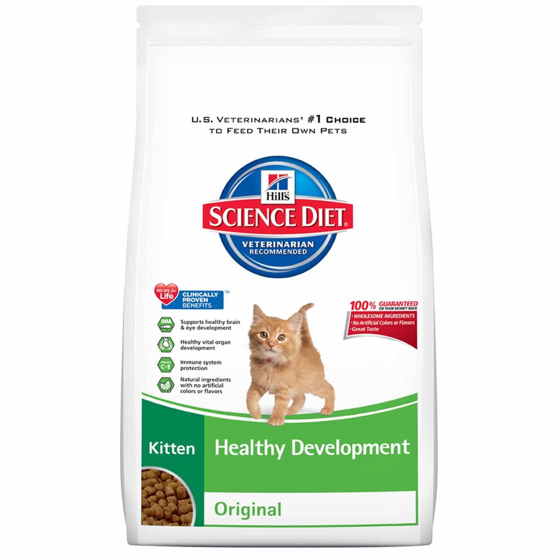 Hills Science Diet Healthy Development Original Kitten Food Hills Science Diet Science Diet Dry Dog Food