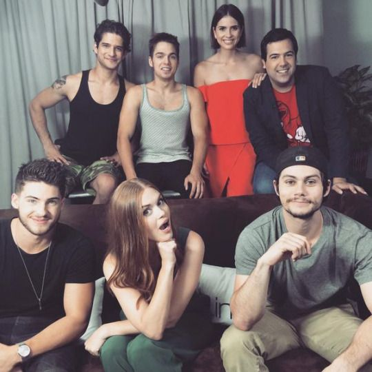 First #ComicCon interview in the can, talking supernatural sex ed with the #TeenWolf cast. 9th july