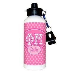 Phi Mu personalized water bottles make a stylish gift!