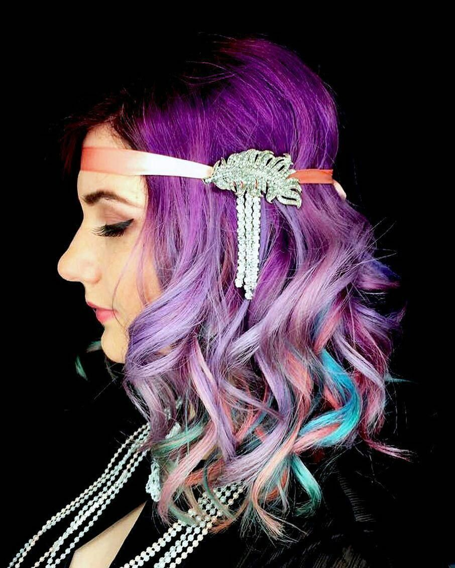 Quirky Wedding Hairstyle: 13 Unicorn Wedding Hair Ideas From The Unicorn Tribe