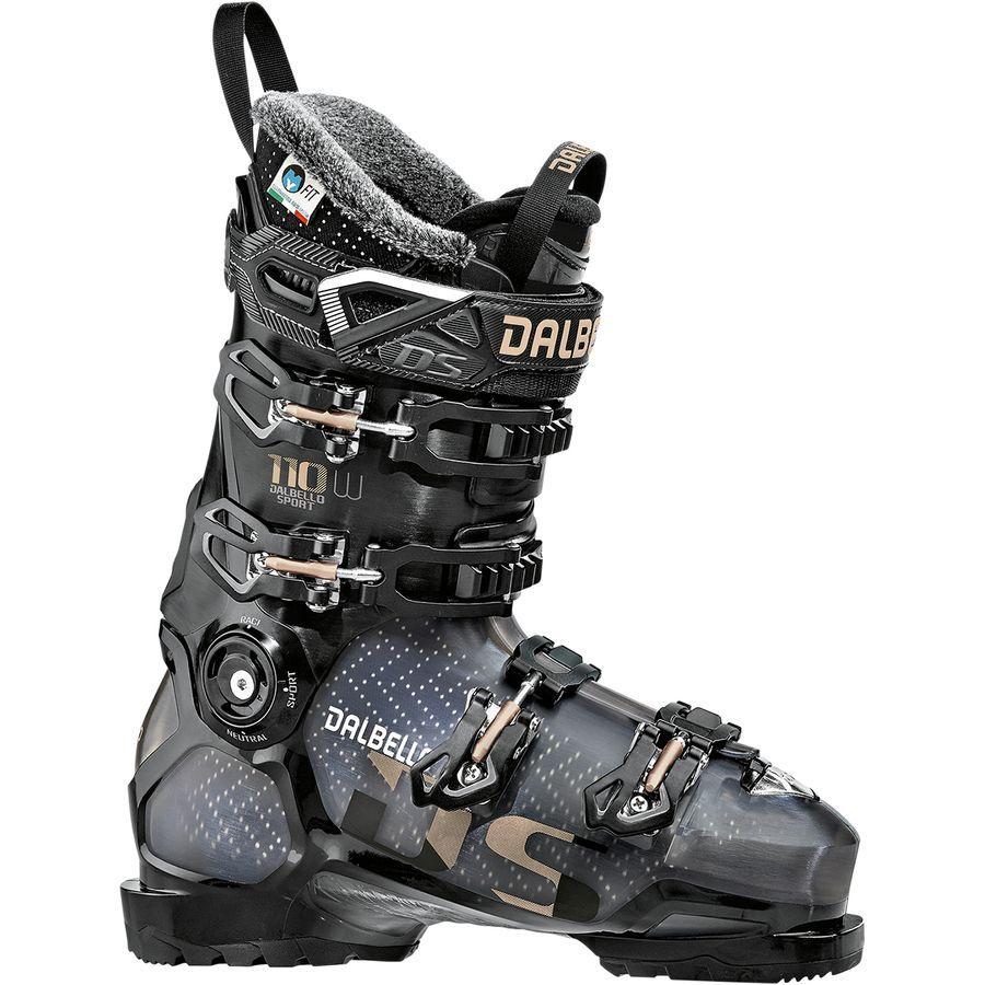 Dalbello sports ds 110 ski boot womens black trans