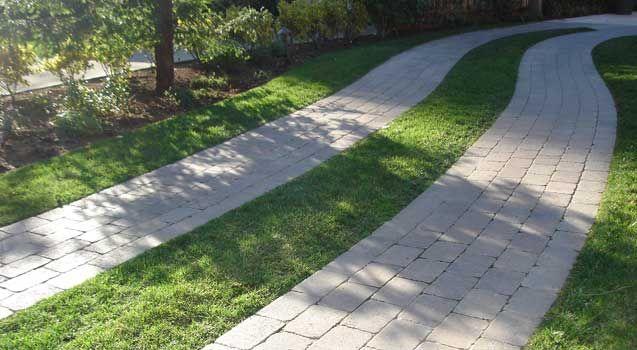 Sustainable driveway hdsustainablelandscapes build permeable driveways pavimento - Pavimento jardin ...