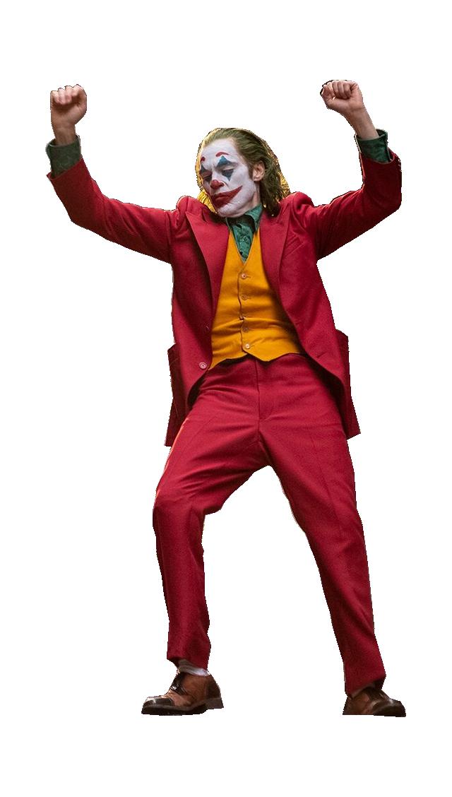 Dancing Joker Template (Transparent PNG)