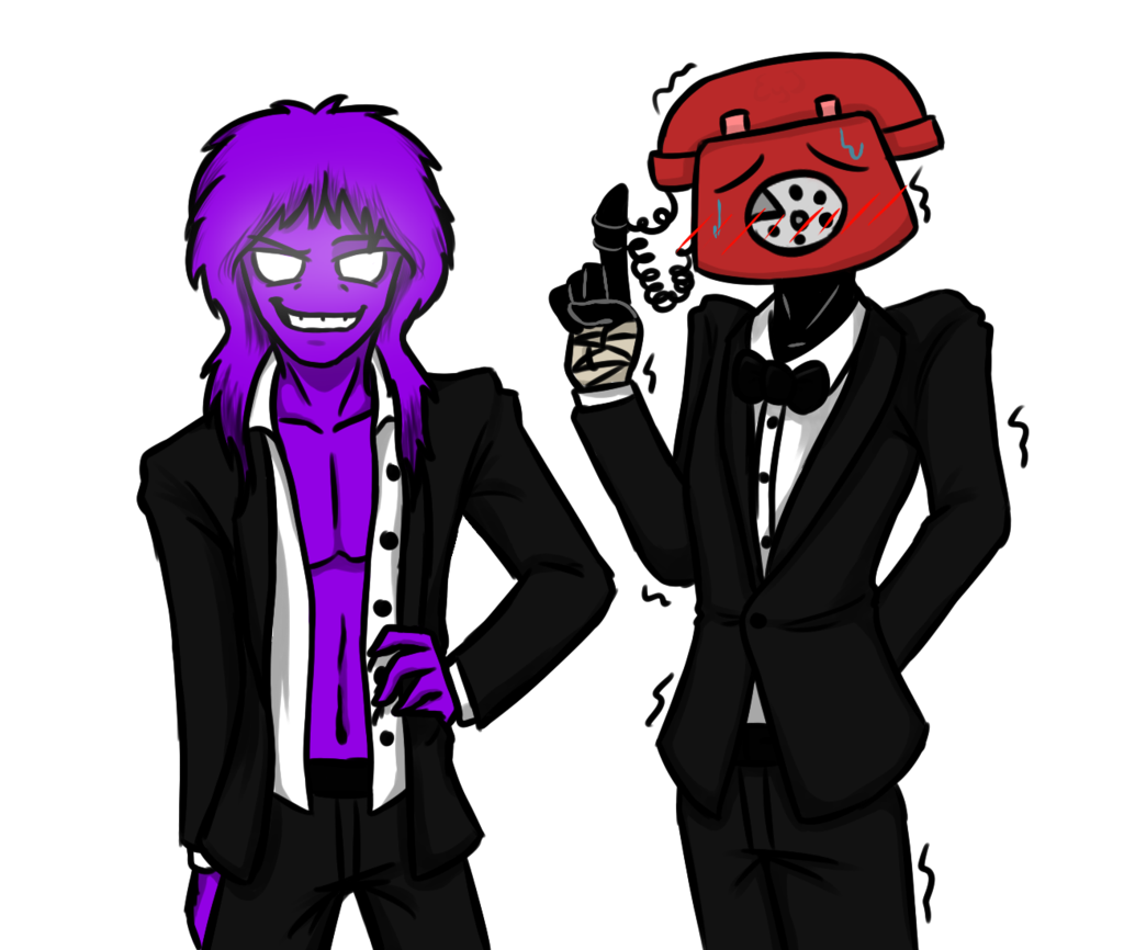 Phone guy x purple guy fanfic lemon - Purpleguy And Phoneguy By Purplemonstereyj On Deviantart