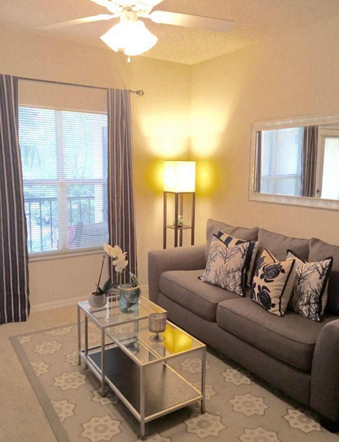 Apartment Living Room Decorating Idea New Awesome Apartment Living Room De In 2020 Small Apartment Living Room Living Room Decor Apartment Apartment Living Room Design