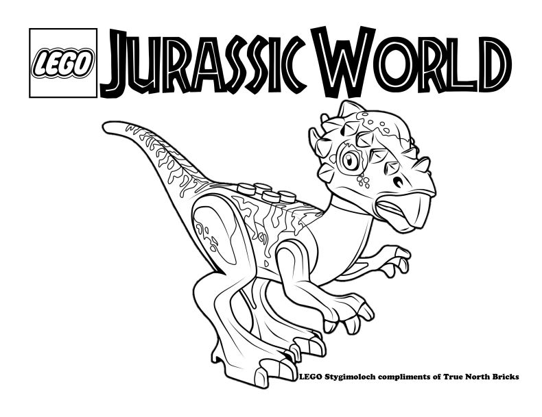 Lego® jurassic world™ jurassic park t.rex rampage. LEGO Colouring Page – Stygimoloch   Dinosauri, Natale