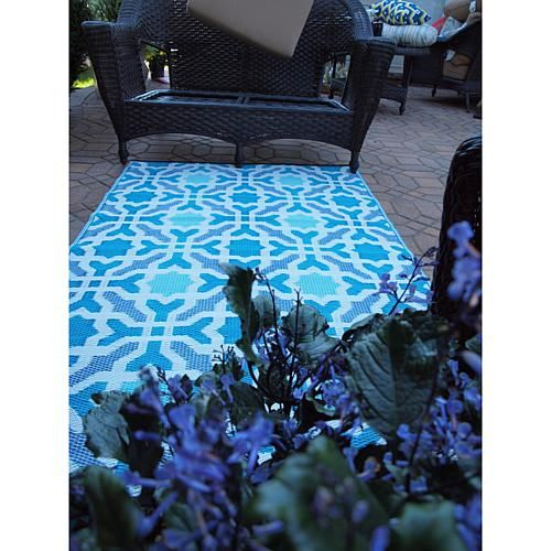 Fab Habitat 3 X 5 Seville Rug Blue And Multicolor Products