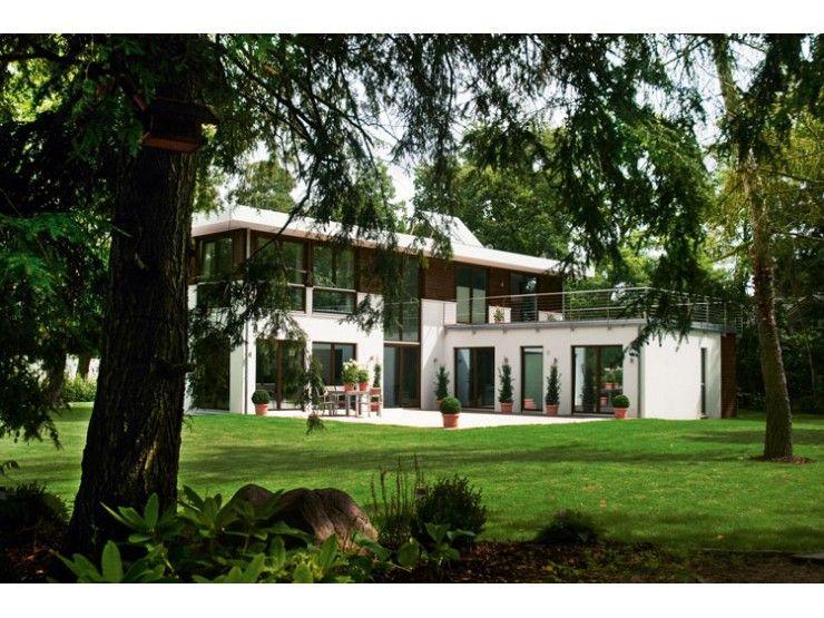 bauhaus einfamilienhaus von haacke haus gmbh co kg hausxxl fertighaus villa. Black Bedroom Furniture Sets. Home Design Ideas