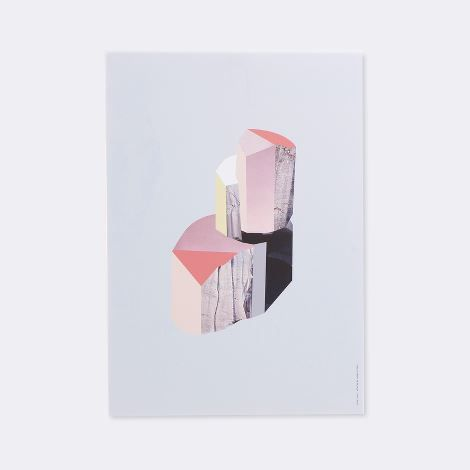 Quartz 1 wooden illustrations by ferm living