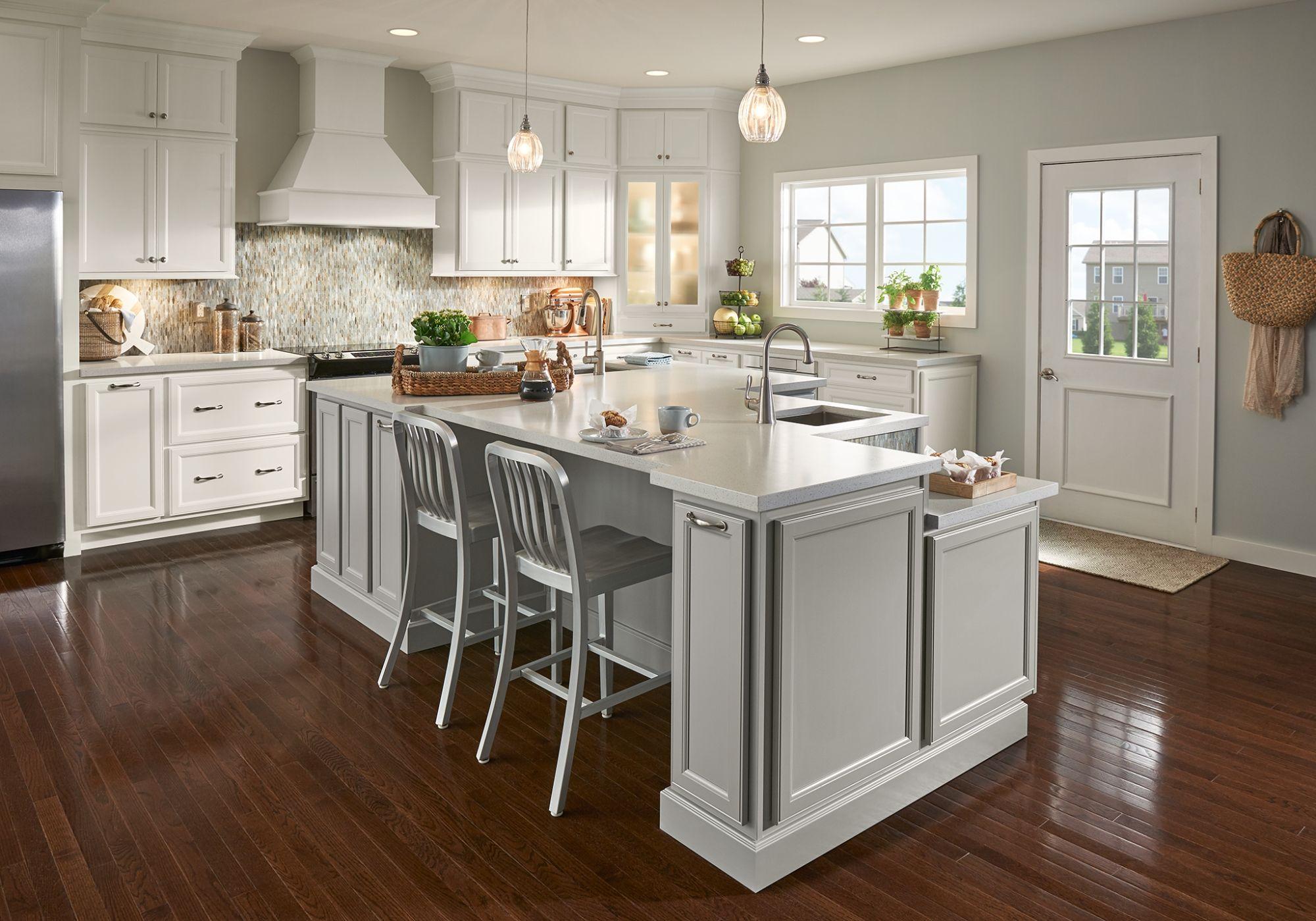Glen Ellen Inexpensive kitchen Semi custom