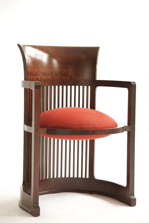 Frank Lloyd Wright Barrel Chair
