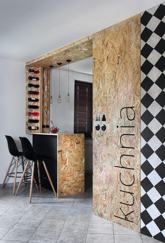 Kuchnia Z Osb Pln Design Osb Furniture Osb Osb Wood
