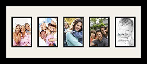 Art to Frames DoubleMultimat12826189FRBW26079 Collage Photo Frame Double Mat with 5  4x6 Openings and Satin Black Frame >>> This is an Amazon Affiliate link. For more information, visit image link.