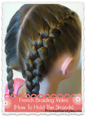 How To French Braid Hair Styles Kids Hairstyles Little Girl Hairstyles