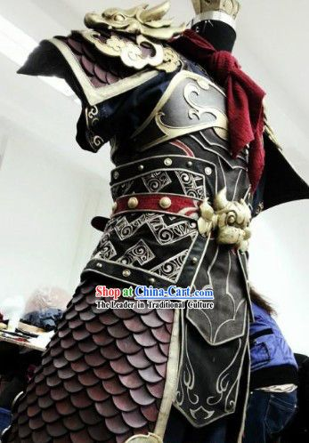 6968f90ba Ancient Chinese Monkey King Sun Wukong Cosplay Armor Costumes and Coronet  Complete Set for Men
