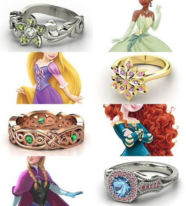 Mariage Disney   DISNEYYYY!!!!!!!!!!!:3   Disney rings ...