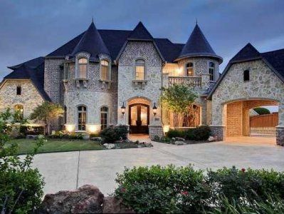 Castle House, My Dream House Is A Castle House.