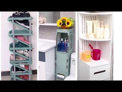 تعرفي على أفكار استغلال المساحة الضيقة منظمات للمطبخ ولحمام ستعجبك Youtube Shoe Rack Rack Home