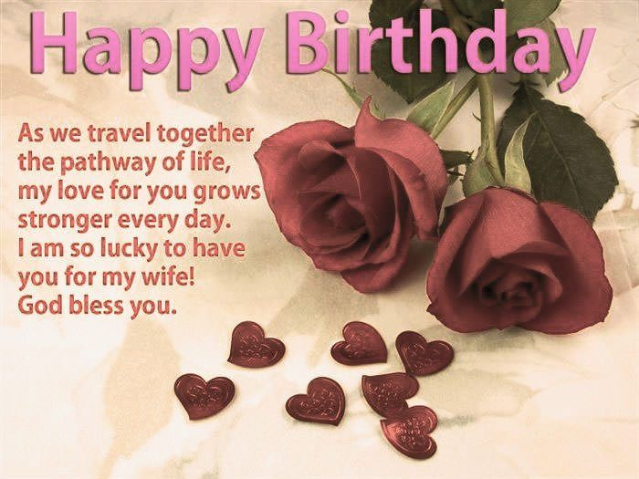 Happy Birthday Wife Wishes Quotes Messages Hey There Is It Lovely Happy Birthday Wishes Quotes